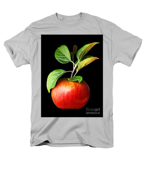 Ida Red Apple And Leaves Men's T-Shirt  (Regular Fit) by Wernher Krutein