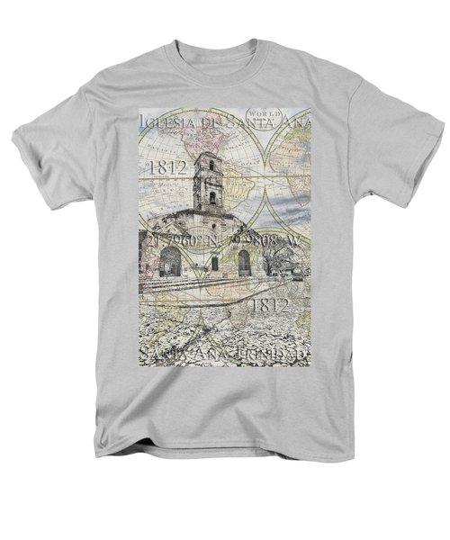 Iglesia De Santa Ana Passport Men's T-Shirt  (Regular Fit)