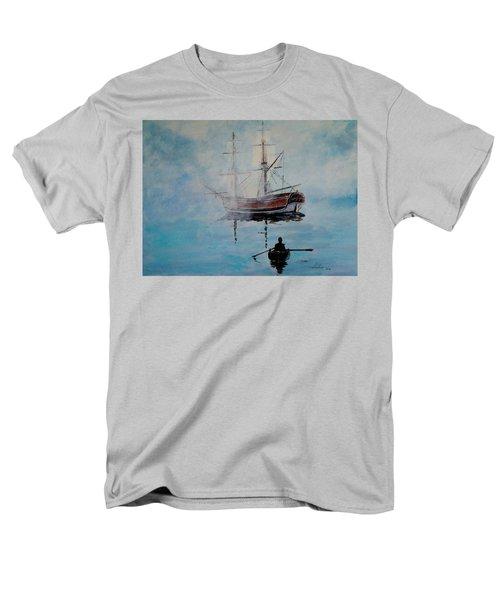 Into The Mist Men's T-Shirt  (Regular Fit) by Alan Lakin