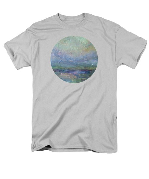 Men's T-Shirt  (Regular Fit) featuring the painting Into The Morning by Mary Wolf