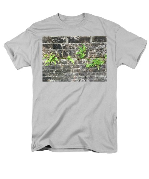Men's T-Shirt  (Regular Fit) featuring the photograph Intrepid Ferns by Kim Nelson
