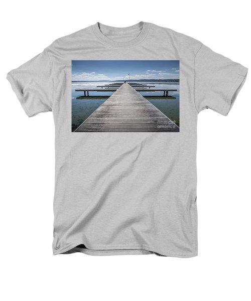 Inviting Walk Men's T-Shirt  (Regular Fit)