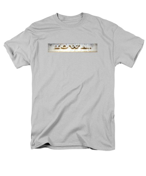 Men's T-Shirt  (Regular Fit) featuring the photograph Iowa. by Jame Hayes