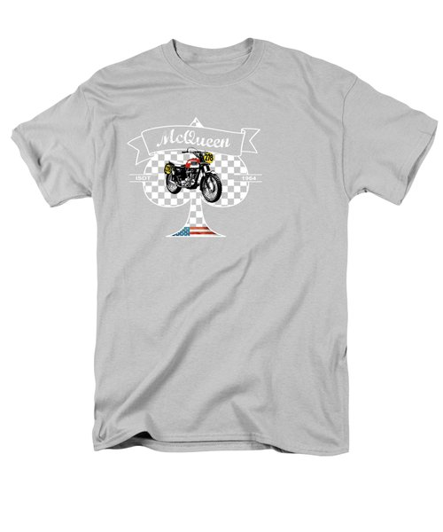Isdt Triumph Steve Mcqueen Men's T-Shirt  (Regular Fit) by Mark Rogan
