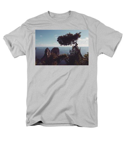 Island Of Capri - Italy Men's T-Shirt  (Regular Fit) by Cesare Bargiggia
