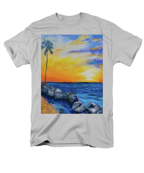Men's T-Shirt  (Regular Fit) featuring the painting Island Time by Stephen Anderson