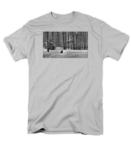 It Was A Dark And Stormy Night Men's T-Shirt  (Regular Fit) by Elizabeth Dow