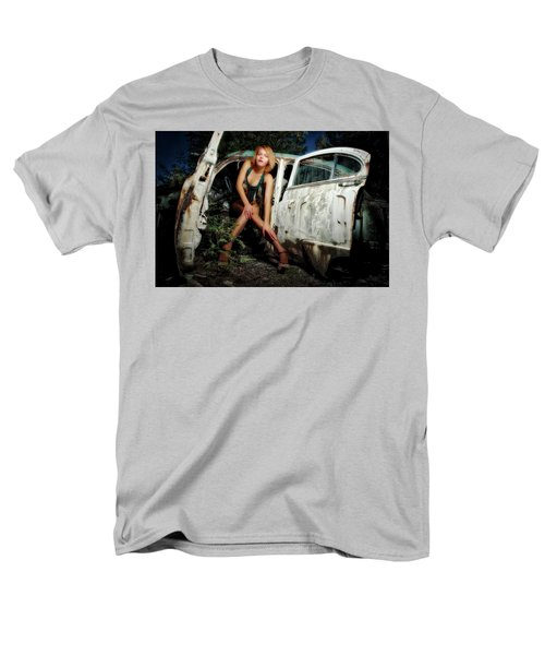 Izzy's Buick Men's T-Shirt  (Regular Fit) by Jerry Golab