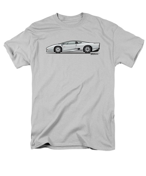 Jag Xj220 Spa Silver Men's T-Shirt  (Regular Fit) by Monkey Crisis On Mars