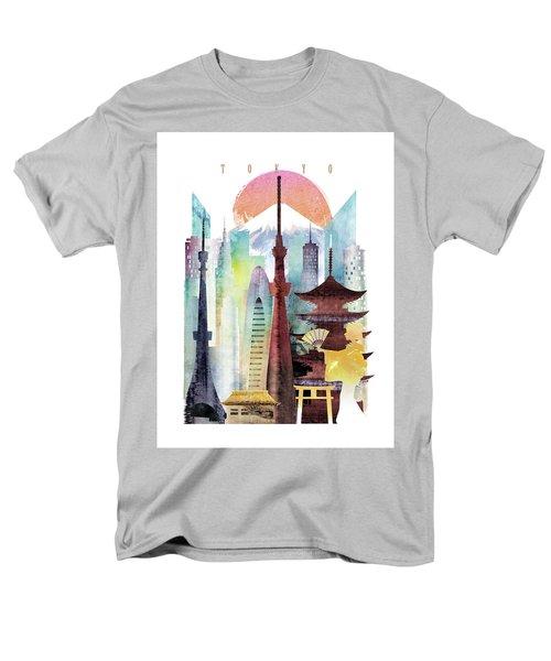 Japan Tokyo Men's T-Shirt  (Regular Fit) by Unique Drawing