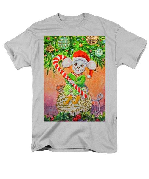 Jingle Mouse Men's T-Shirt  (Regular Fit) by Li Newton