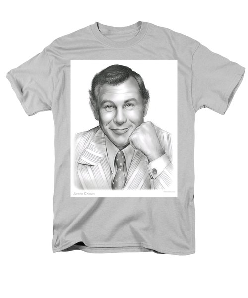 Johnny Carson Men's T-Shirt  (Regular Fit) by Greg Joens