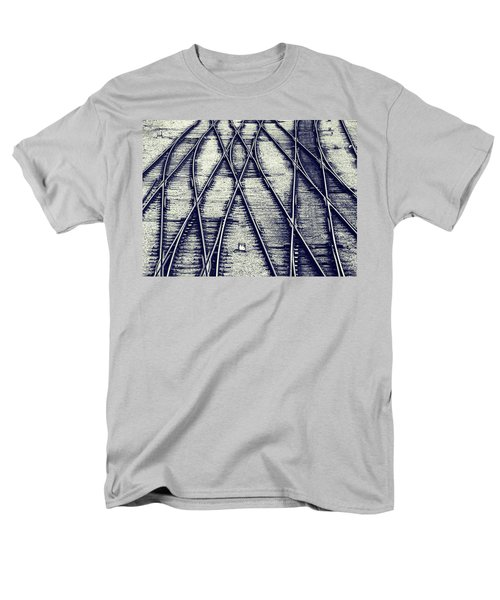 Men's T-Shirt  (Regular Fit) featuring the photograph Journey Marks by Wayne Sherriff