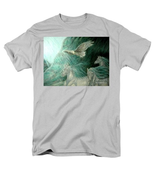 Journeyscape-out Of Darkness Men's T-Shirt  (Regular Fit) by Kim Jones