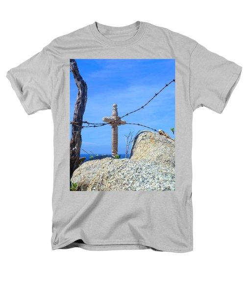 Just Beyond Men's T-Shirt  (Regular Fit) by Barbie Corbett-Newmin