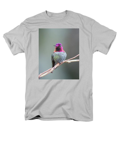 Karisa's Hummingbird.1 Men's T-Shirt  (Regular Fit) by E Faithe Lester