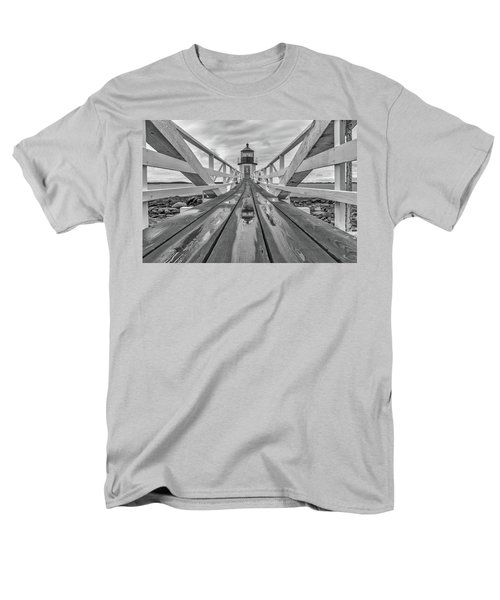 Men's T-Shirt  (Regular Fit) featuring the photograph Keeper's Walkway At Marshall Point by Rick Berk