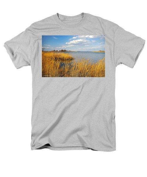 Kent Island Men's T-Shirt  (Regular Fit) by Brian Wallace