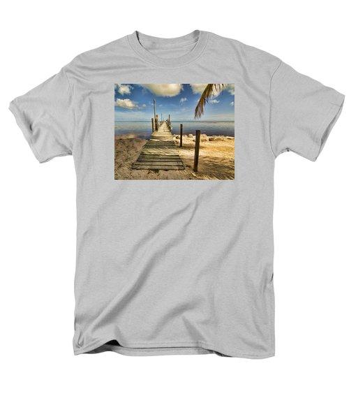 Keys Dock Men's T-Shirt  (Regular Fit) by Don Durfee