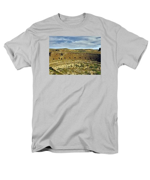 Men's T-Shirt  (Regular Fit) featuring the photograph Kiva View Chaco Canyon by Kurt Van Wagner