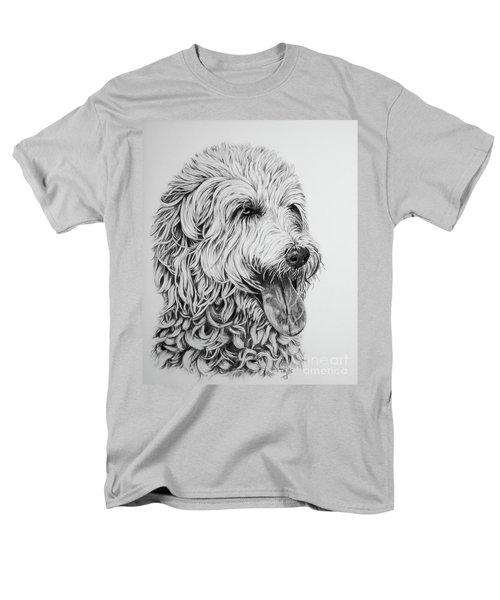 Labradoodle Men's T-Shirt  (Regular Fit) by Terri Mills