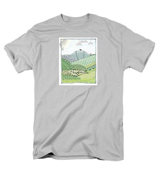 Labrador Mountain Doggie Doodle Men's T-Shirt  (Regular Fit)