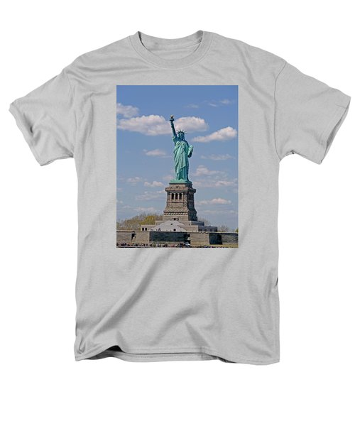 Lady Liberty Men's T-Shirt  (Regular Fit) by Helen Haw