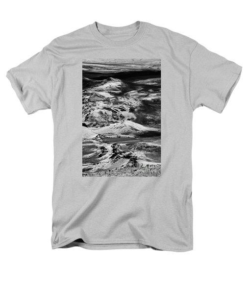 Men's T-Shirt  (Regular Fit) featuring the photograph Lakagigar Iceland by Rudi Prott