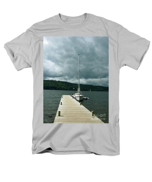 Lake Windermere Men's T-Shirt  (Regular Fit) by Mini Arora