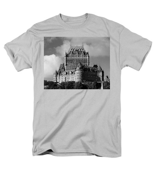 Le Chateau Frontenac - Quebec City Men's T-Shirt  (Regular Fit) by Juergen Weiss