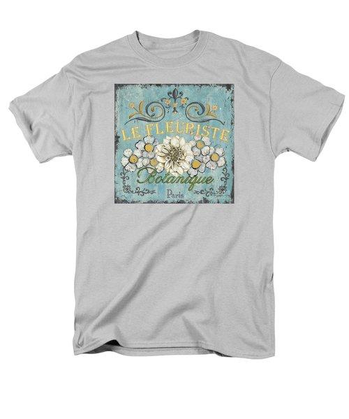 Le Fleuriste De Botanique Men's T-Shirt  (Regular Fit) by Debbie DeWitt