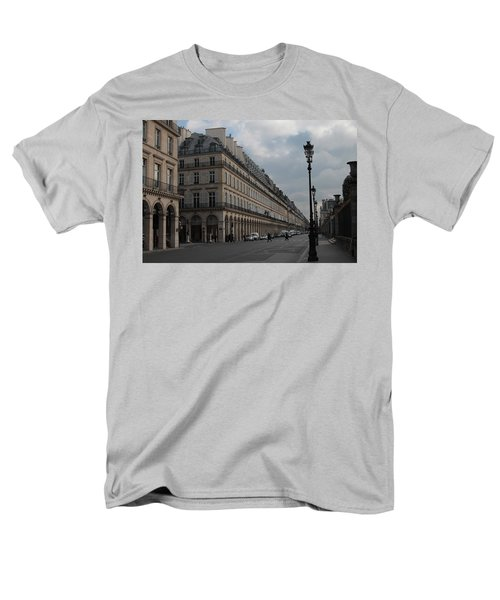 Men's T-Shirt  (Regular Fit) featuring the photograph Le Meurice Hotel, Paris by Christopher Kirby