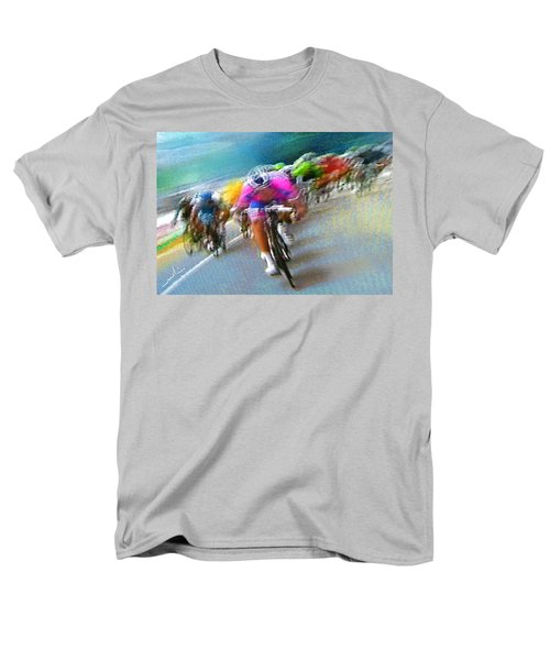 Le Tour De France 09 Men's T-Shirt  (Regular Fit) by Miki De Goodaboom