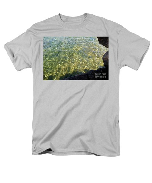 Ledge View Ripples Men's T-Shirt  (Regular Fit) by Sandra Updyke