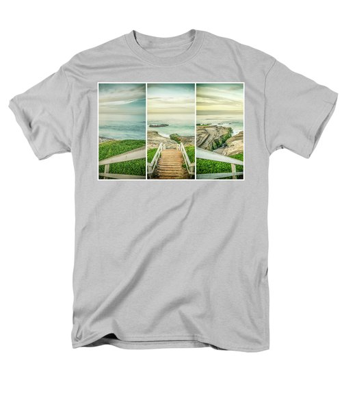 Let's Go Down To Windansea Men's T-Shirt  (Regular Fit) by Joseph S Giacalone