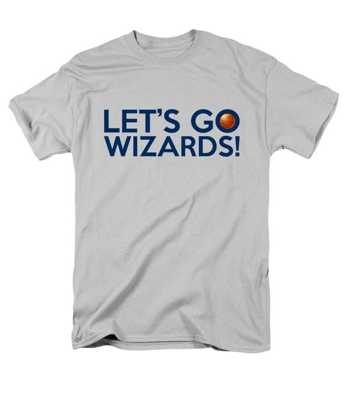 Let's Go Wizards Men's T-Shirt  (Regular Fit) by Florian Rodarte
