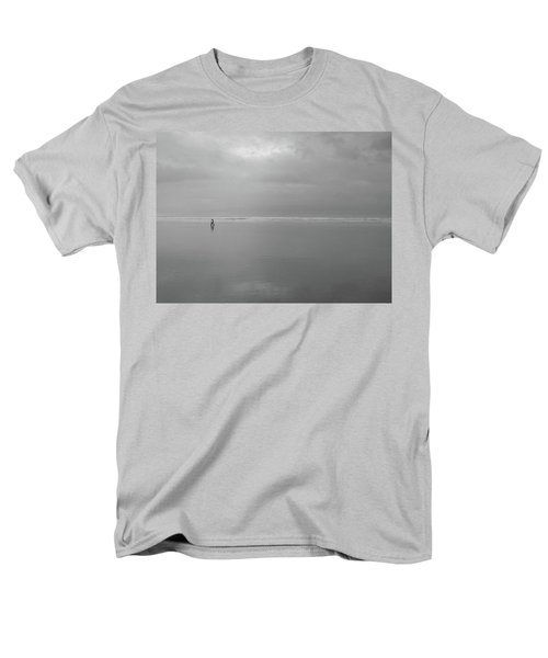 Men's T-Shirt  (Regular Fit) featuring the photograph Life Is A Beach by Suzy Piatt