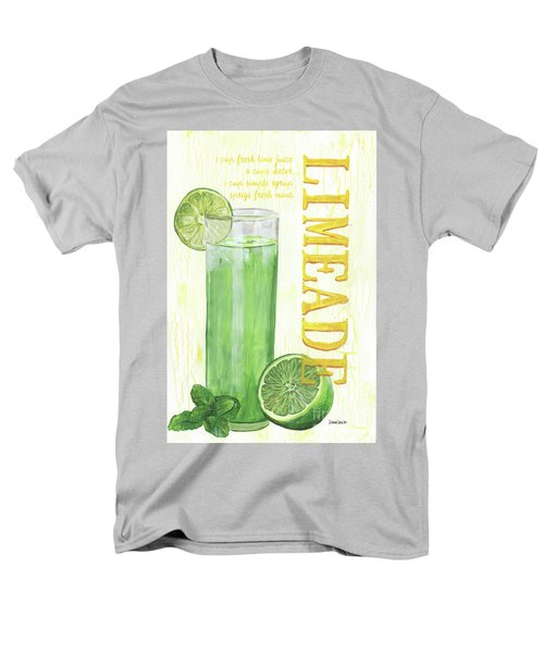 Men's T-Shirt  (Regular Fit) featuring the painting Limeade by Debbie DeWitt