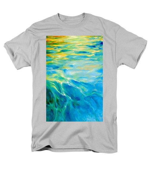 Liquid Gold Men's T-Shirt  (Regular Fit) by Dina Dargo