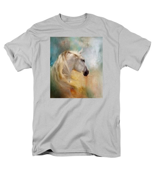Listen To The Wind- Harley Men's T-Shirt  (Regular Fit) by Dorota Kudyba