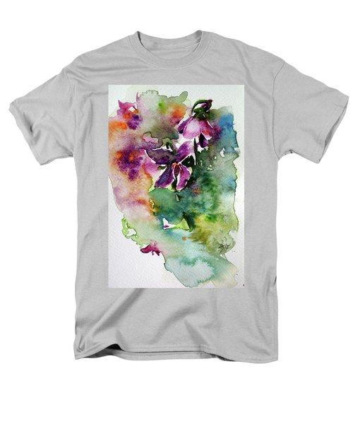 Little Violet Men's T-Shirt  (Regular Fit) by Kovacs Anna Brigitta