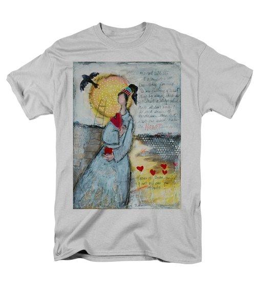Live Joyfully  Men's T-Shirt  (Regular Fit) by Sharon Furner