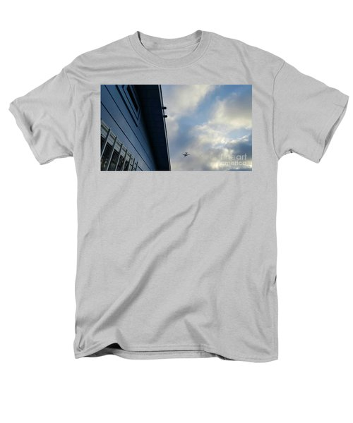 Living In The Landing Zone  Men's T-Shirt  (Regular Fit) by Angela J Wright