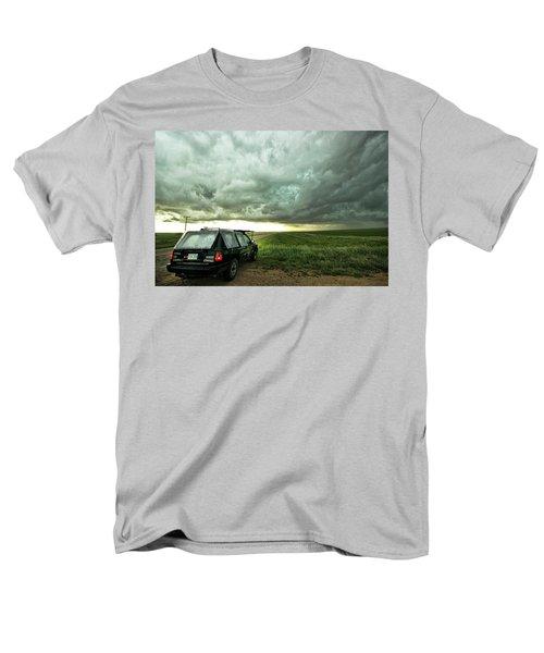 Living Saskatchewan Sky Men's T-Shirt  (Regular Fit) by Ryan Crouse
