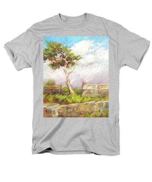 Lone Cedar Men's T-Shirt  (Regular Fit) by Mary Hubley