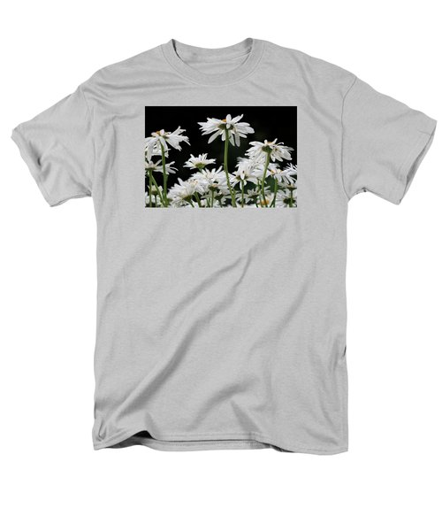 Looking Up At At Daisies Men's T-Shirt  (Regular Fit) by Dorothy Cunningham
