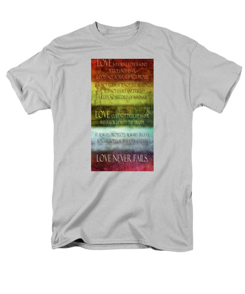 Men's T-Shirt  (Regular Fit) featuring the digital art Love Is  by Angelina Vick