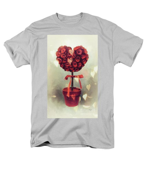 Men's T-Shirt  (Regular Fit) featuring the digital art Love Is In The Air by Lois Bryan