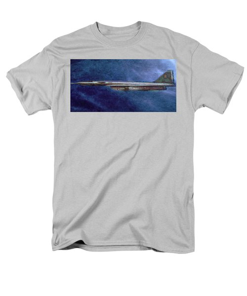 Men's T-Shirt  (Regular Fit) featuring the painting M50 Myasishchev  by Michael Cleere