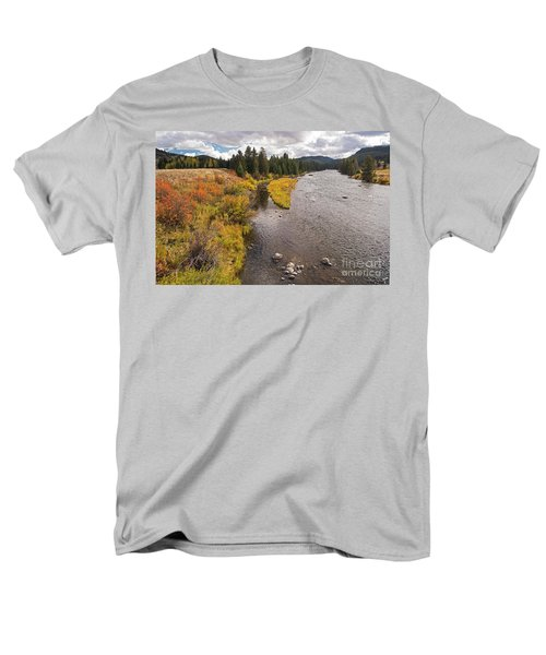 Madison River Men's T-Shirt  (Regular Fit) by Cindy Murphy - NightVisions